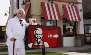 Johnny Miller as Colonel Sanders