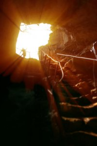 сказочная пещера