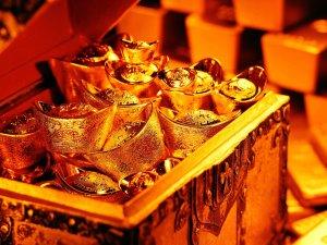 сундук с золотыми слитками