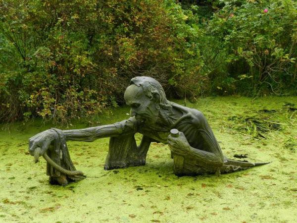 страшилка болотная