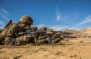 15th MEU Marines train in combined arms training